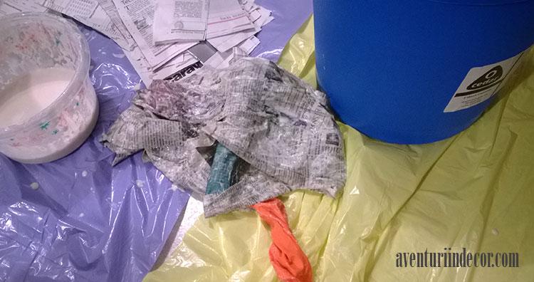 balon-plesnit-papier-mache
