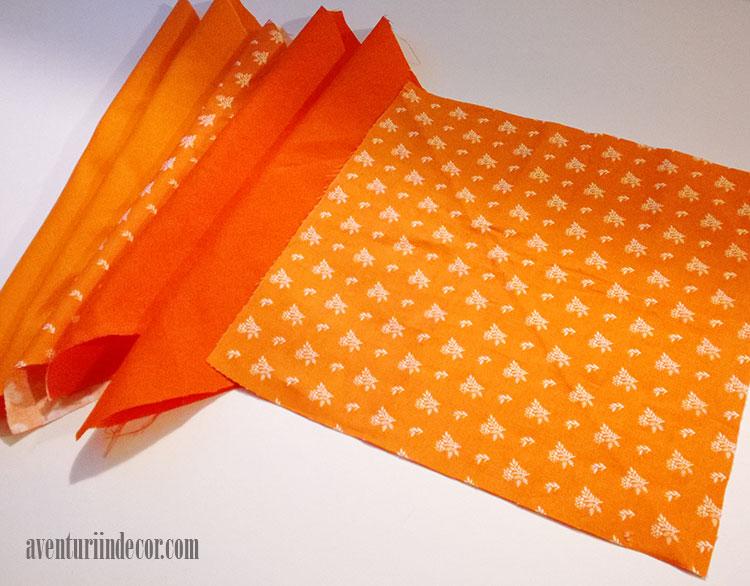 bucati-material-portocaliu