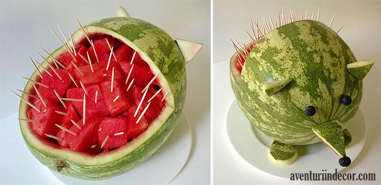 cum-sa-faci-arici-din-pepene