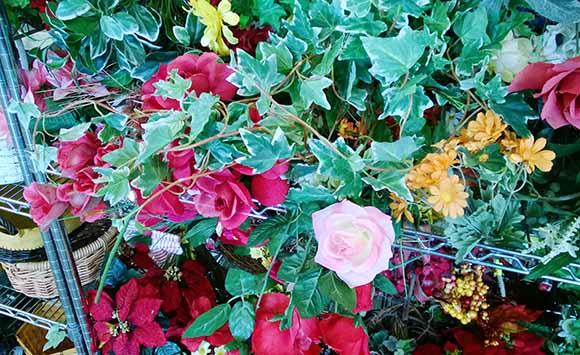 flori-artificiale-vechi