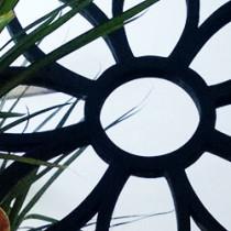 oglinda-floare-vopsea-neagra