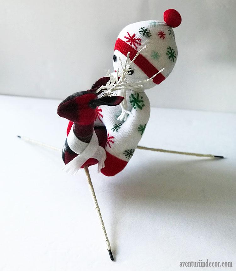 papusa-din-ciorap-cerb-decorativ