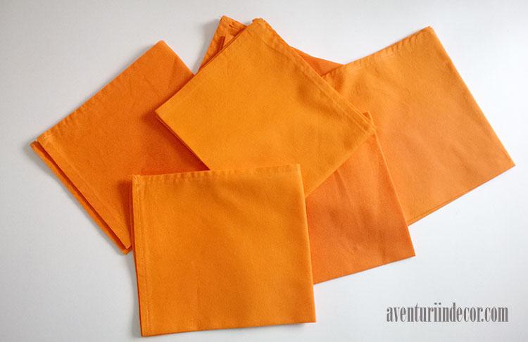 servete-de-masa-portocalii